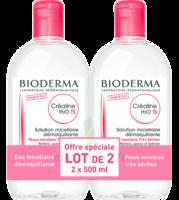 Crealine Ts H2o Solution Micellaire Sans Parfum Nettoyante Apaisante 2fl/500ml à VILLERS-LE-LAC