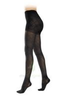 Sigvaris Styles Motifs Losanges Collant  Femme Classe 2 Noir Small Normal à VILLERS-LE-LAC