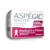 Aspegic Adultes 1000 Mg, Poudre Pour Solution Buvable En Sachet-dose 20 à VILLERS-LE-LAC