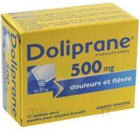 Doliprane 500 Mg Poudre Pour Solution Buvable En Sachet-dose B/12 à VILLERS-LE-LAC