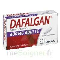 Dafalgan 600 Mg Suppositoires Adulte Plq/10 à VILLERS-LE-LAC
