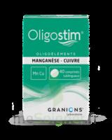 Oligostim Manganèse Cuivre Cpr Subl T/40 à VILLERS-LE-LAC