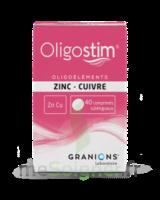 OLIGOSTIM Zinc Cuivre Cpr subl T/40 à VILLERS-LE-LAC