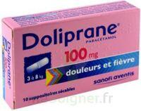 Doliprane 100 Mg Suppositoires Sécables 2plq/5 (10) à VILLERS-LE-LAC