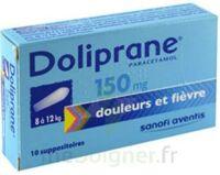 Doliprane 150 Mg Suppositoires 2plq/5 (10) à VILLERS-LE-LAC