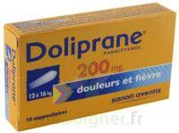 Doliprane 200 Mg Suppositoires 2plq/5 (10) à VILLERS-LE-LAC