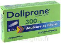 Doliprane 300 Mg Suppositoires 2plq/5 (10) à VILLERS-LE-LAC