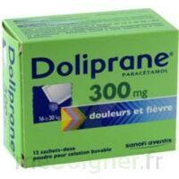 Doliprane 300 Mg Poudre Pour Solution Buvable En Sachet-dose B/12 à VILLERS-LE-LAC