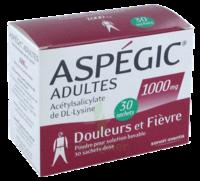 Aspegic Adultes 1000 Mg, Poudre Pour Solution Buvable En Sachet-dose 30 à VILLERS-LE-LAC