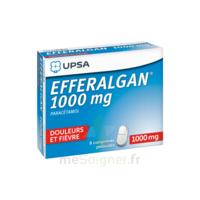 Efferalgan 1000 Mg Comprimés Pelliculés Plq/8 à VILLERS-LE-LAC