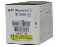 Bd Microlance 3, G30 1/2, 0,30 Mm X 13 Mm, Jaune  à VILLERS-LE-LAC