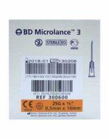 Bd Microlance 3, G25 5/8, 0,5 Mm X 16 Mm, Orange  à VILLERS-LE-LAC