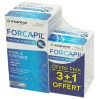 Forcapil Gélules croissance vitalité cheveux ongles B/180+60 à VILLERS-LE-LAC