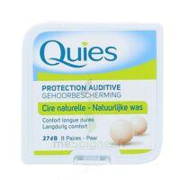 QUIES PROTECTION AUDITIVE CIRE NATURELLE 8 PAIRES à VILLERS-LE-LAC