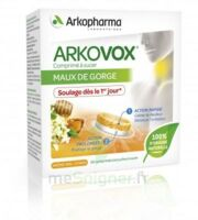 Arkovox Comprimés à Sucer Miel Citron B/20 à VILLERS-LE-LAC