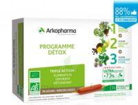 Arkofluide Bio Ultraextract Coffret Programme Détox 3x10 Ampoules/10ml à VILLERS-LE-LAC