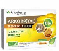 Arkoroyal Gelée Royale Bio 1000 Mg Solution Buvable 20 Ampoules/10ml à VILLERS-LE-LAC