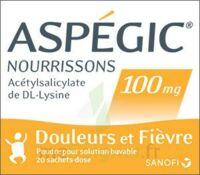 Aspegic Nourrissons 100 Mg, Poudre Pour Solution Buvable En Sachet-dose à VILLERS-LE-LAC