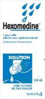 HEXOMEDINE 1 POUR MILLE S appl loc Fl/250ml à VILLERS-LE-LAC