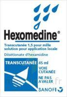 HEXOMEDINE TRANSCUTANEE 1,5 POUR MILLE, solution pour application locale à VILLERS-LE-LAC