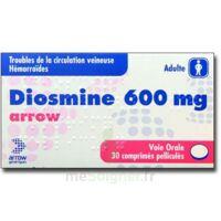 Diosmine Arrow 600 Mg, Comprimé Pelliculé à VILLERS-LE-LAC