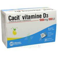 Cacit Vitamine D3 1000 Mg/880 Ui, Granulés Effervescents 90sach/8g à VILLERS-LE-LAC