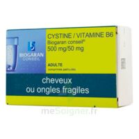 Cystine/vitamine B6 Biogaran Conseil 500 Mg/50 Mg Cpr Pell Plq/120 à VILLERS-LE-LAC