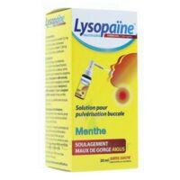 LysopaÏne Ambroxol 17,86 Mg/ml Solution Pour Pulvérisation Buccale Maux De Gorge Sans Sucre Menthe Fl/20ml à VILLERS-LE-LAC