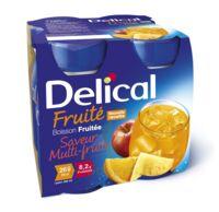 DELICAL BOISSON FRUITEE Nutriment multi fruits 4Bouteilles/200ml à VILLERS-LE-LAC