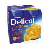 Delical Boisson Fruitee Nutriment Orange 4bouteilles/200ml à VILLERS-LE-LAC