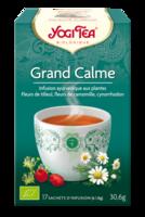 Yogi Tea Tisane Ayurvédique Grand Calme Bio 17 Sachets/1,8g à VILLERS-LE-LAC