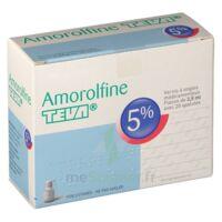 AMOROLFINE TEVA 5 % Vernis ongl médic médicamenteux 1Fl ver/2,5ml+spat à VILLERS-LE-LAC