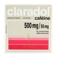 Claradol Cafeine 500 Mg/50 Mg, Comprimé Effervescent à VILLERS-LE-LAC