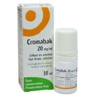 CROMABAK 20 mg/ml, collyre en solution à VILLERS-LE-LAC