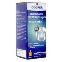OXOMEMAZINE H3 SANTE 0,33 mg/ml SANS SUCRE, solution buvable édulcorée à l'acésulfame potassique à VILLERS-LE-LAC