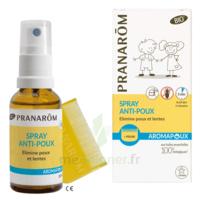 Pranarôm Aromapoux Bio Spray Anti-poux 30ml+peigne à VILLERS-LE-LAC