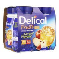 Delical Boisson Fruitee Nutriment Pomme 4bouteilles/200ml à VILLERS-LE-LAC