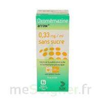 OXOMEMAZINE ARROW 0,33 mg/ml SANS SUCRE, solution buvable édulcorée à l'acésulfame potassique à VILLERS-LE-LAC