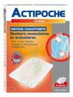 Actipoche Patch chauffant douleurs musculaires B/2 à VILLERS-LE-LAC