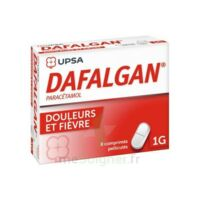 Dafalgan 1000 Mg Comprimés Pelliculés Plq/8 à VILLERS-LE-LAC