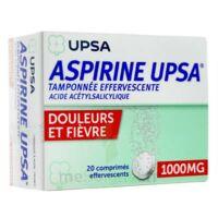 Aspirine Upsa Tamponnee Effervescente 1000 Mg, Comprimé Effervescent à VILLERS-LE-LAC