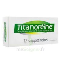 TITANOREINE Suppositoires B/12 à VILLERS-LE-LAC