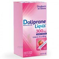 Dolipraneliquiz 300 Mg Suspension Buvable En Sachet Sans Sucre édulcorée Au Maltitol Liquide Et Au Sorbitol B/12 à VILLERS-LE-LAC