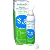 ACTISOUFRE Solution pour pulvérisation buccale/nasale en flacon pressurisé Fl press/100ml à VILLERS-LE-LAC