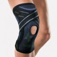 Velpeau Laxit Genouillère Micro Massage Noir-blanc T2 à VILLERS-LE-LAC