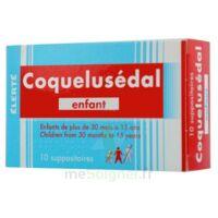 COQUELUSEDAL ENFANTS, suppositoire à VILLERS-LE-LAC