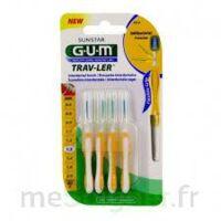 Gum Trav - Ler, 1,3 Mm, Manche Jaune , Blister 4 à VILLERS-LE-LAC
