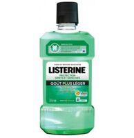 Listerine Protection Dents Gencives Bain Bouche Goût Plus Léger Fl/500ml à VILLERS-LE-LAC