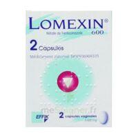 LOMEXIN 600 mg Caps molle vaginale Plq/2 à VILLERS-LE-LAC