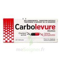 Carbolevure Gélules Adulte Plq/30 à VILLERS-LE-LAC